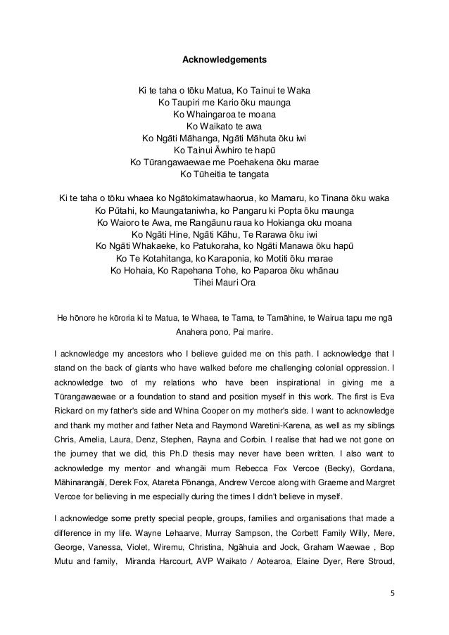 acknowledgment sample thesis