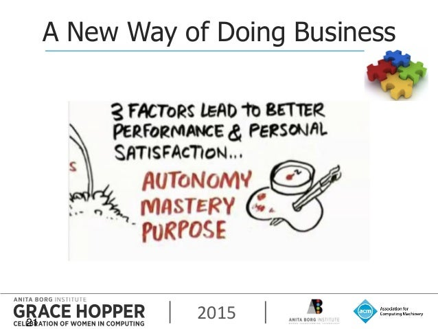 2015 A New Way of Doing Business 21