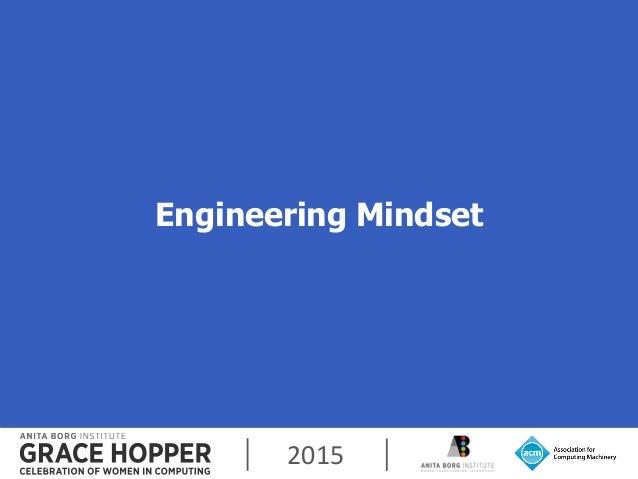 2015 Engineering Mindset 3