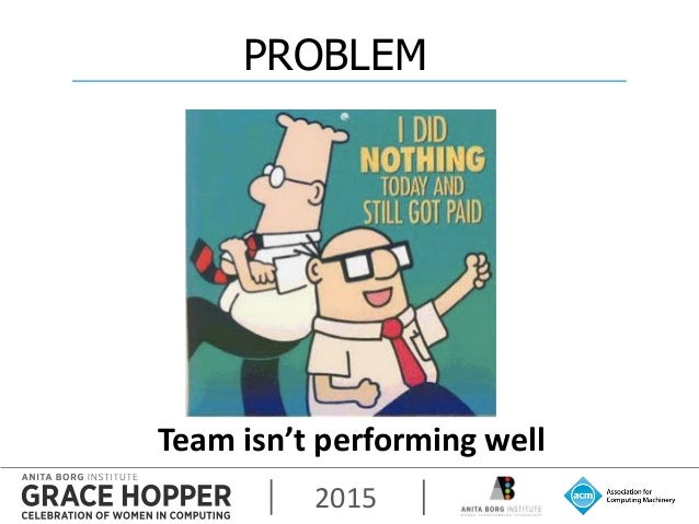 2015 Team isn't performing well PROBLEM