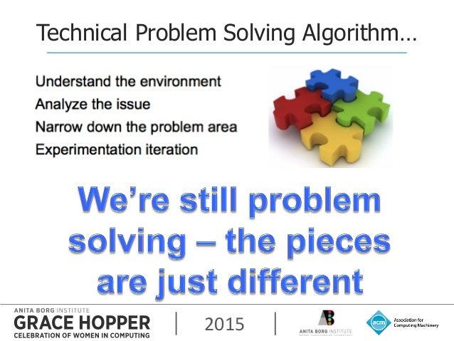 2015 Technical Problem Solving Algorithm…