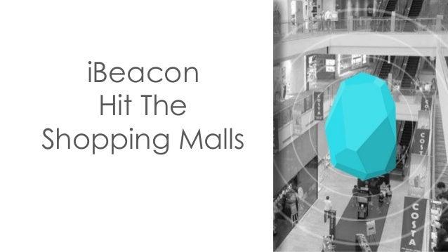 iBeacon Hit The Shopping Malls