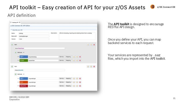 Transform your IMS with API - IMS UG June 2018 Tokyo