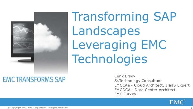 Transforming SAP                                                         Landscapes                                       ...