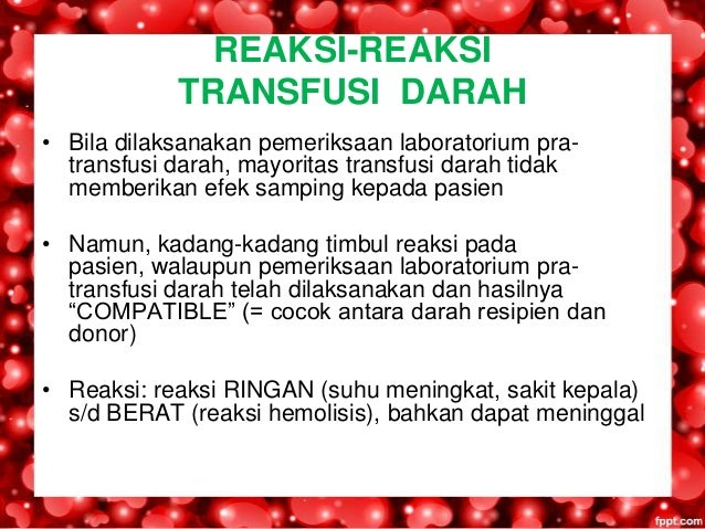 JENIS TRANSFUSI DARAH PDF DOWNLOAD