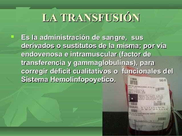 Transfusiones sanguineas noha-loli-bea Slide 3