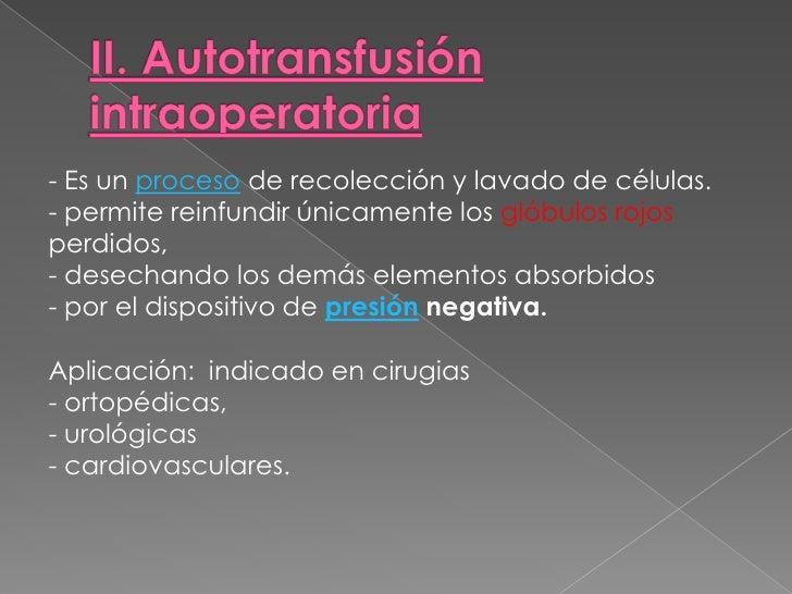 VARIACIONES EN EL POTASIO<br /><ul><li>Puede ocurrir que se produzca una hiperpotasemia tras una transfusión masiva, ya qu...