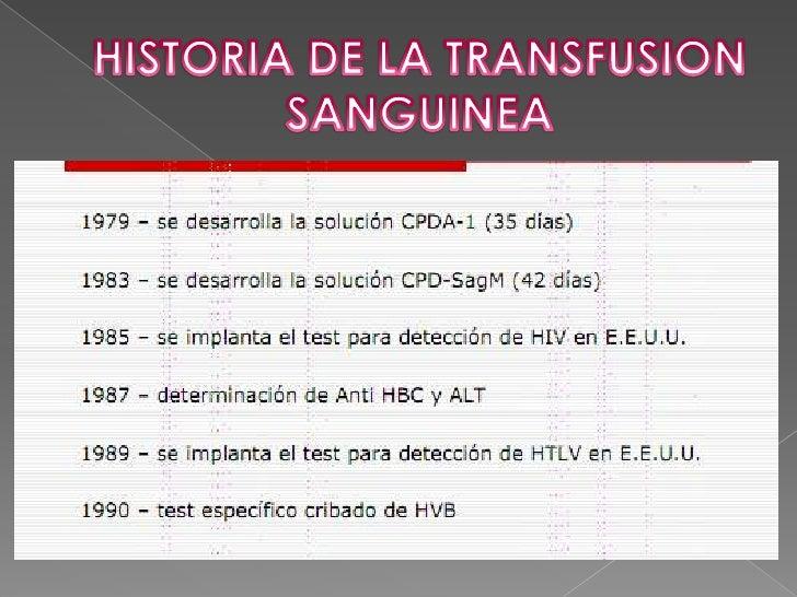 El verdadero resurgimiento de la transfusión se produce en el siglo XIX.<br />En 1864 tanto ROUSSEL en Francia como el obs...