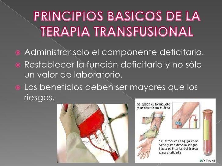 HISTORIA DE LA TRANSFUSION SANGUINEA<br />