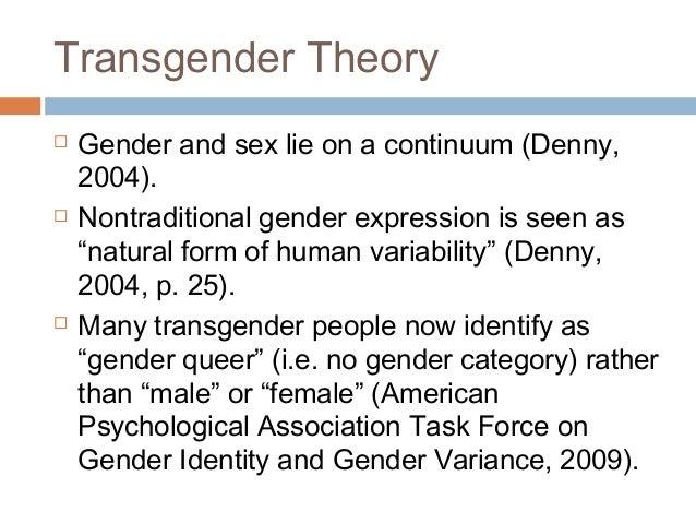 Transgender grand rounds on