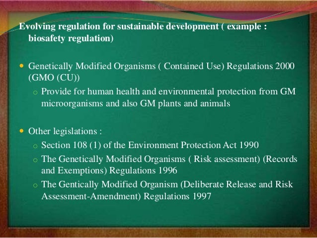 the negative effects of genetically modified organisms gmos on the environment society and economy o Genetically modified crops on the agri-food sector the effect of agricultural policy: environment and related regulatory approaches are not covered in this.