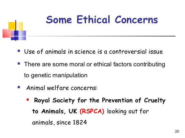 Ethical concerns of genetic research