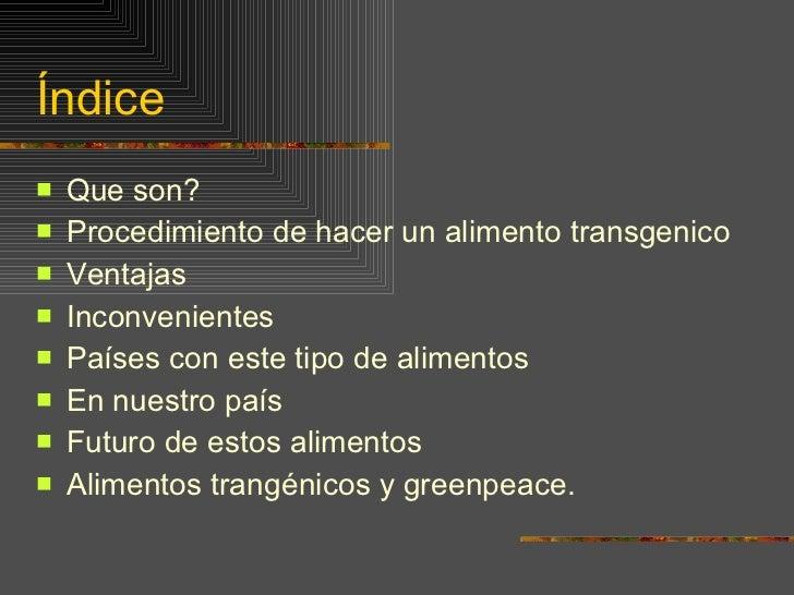 Transgenicos Slide 2