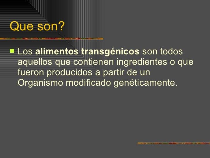 Transgenicos Slide 3
