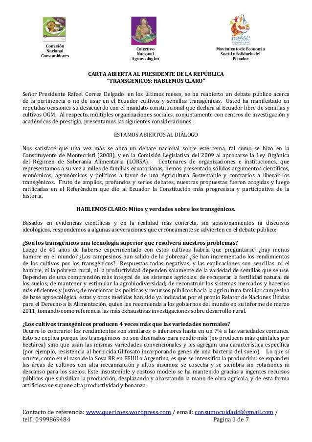 Comisión         Nacional                              Colectivo                         Movimiento de Economía       Cons...