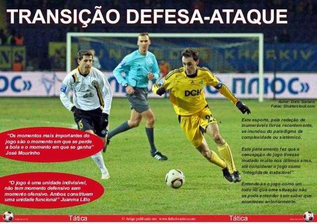 TRANSIÇÃO DEFESA-ATAQUE  Autor: Enric Soriano Fotos: Shutterstock.com  Este esporte, pela redação de inumeráveis livros re...