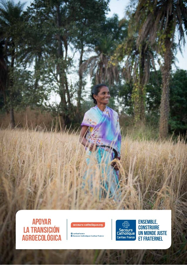 Apoyar la transición agroecológica ı1  caritasfrance  Secours Catholique-Caritas France secours-catholique.orgApoyar l...