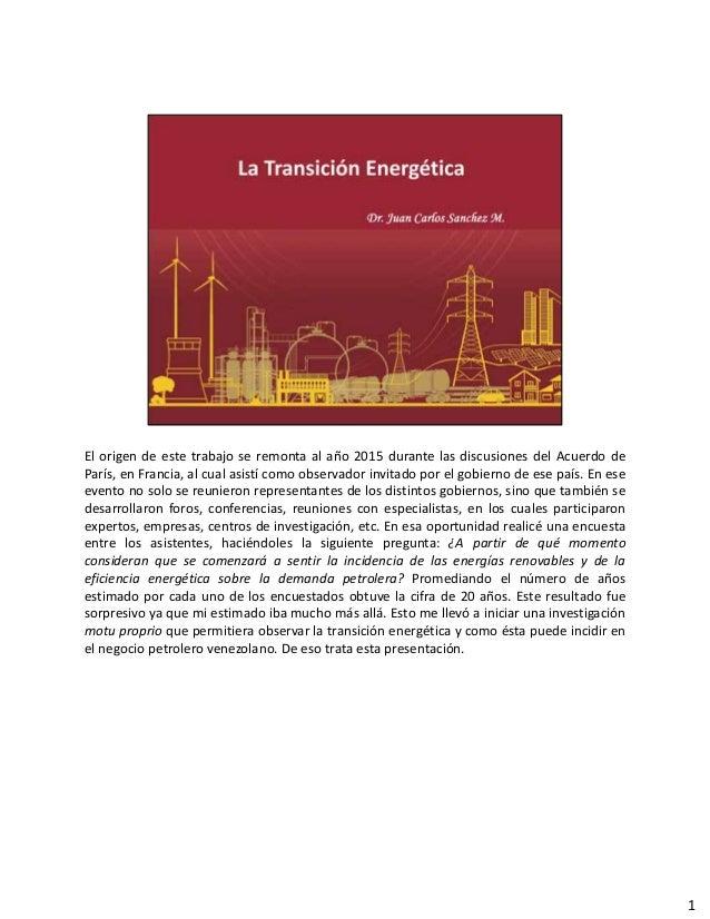 El origen de este trabajo se remonta al año 2015 durante las discusiones del Acuerdo de París, en Francia, al cual asistí ...