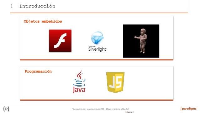 Animaciones y transiciones en CSS: Que empiece el baile Slide 3