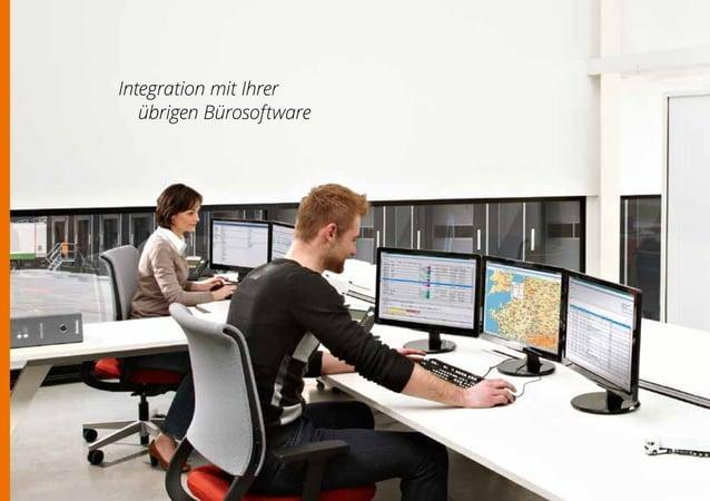 15 FLEXIBLE UND SCHNELLE INTEGRATION Straffen Sie Ihre Software Sie arbeiten nicht nur mit einem Flottenmanagementsystem, ...