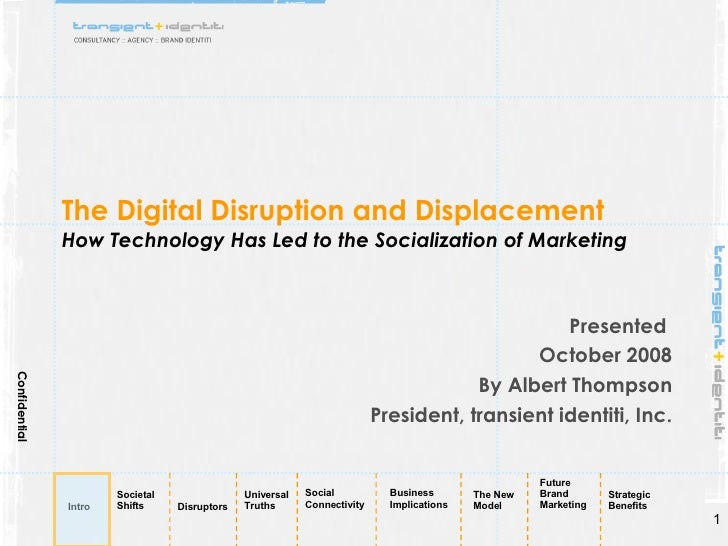 How Technology Has Led to the Socialization of Marketing Presented by Transient Identiti