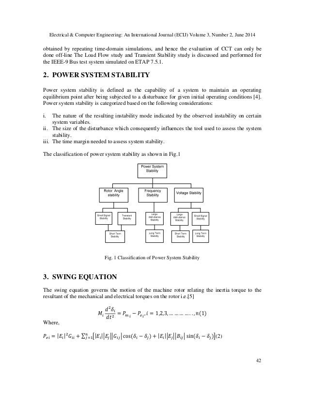 Transient stability analysis and enhancement of ieee 9 bus system