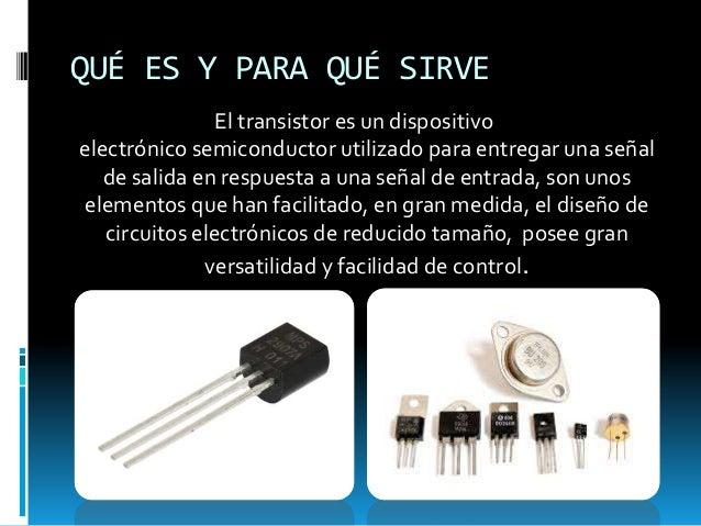 Transistor vicent chiner