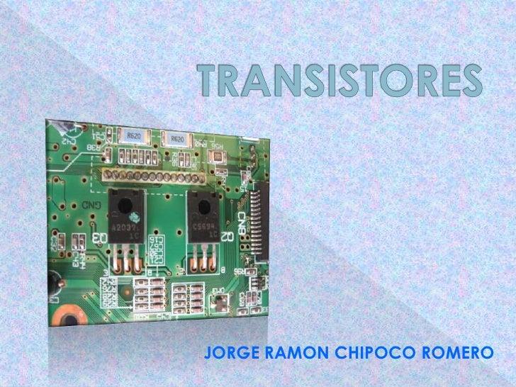 JORGE RAMON CHIPOCO ROMERO