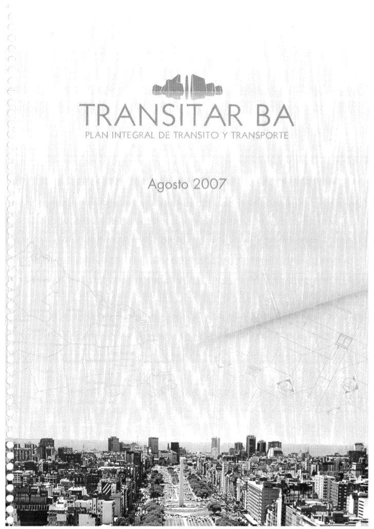 Transporte BA 2020 Transitar BA 2007