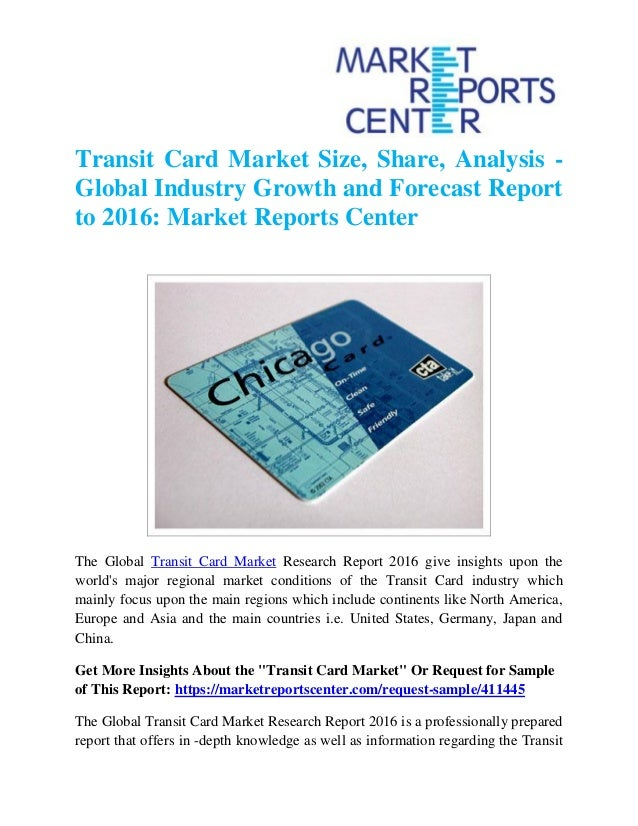 Analysis of credit card market in