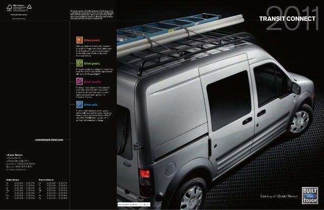 Jack Madden Ford - 2011 Transit Connect Brochure