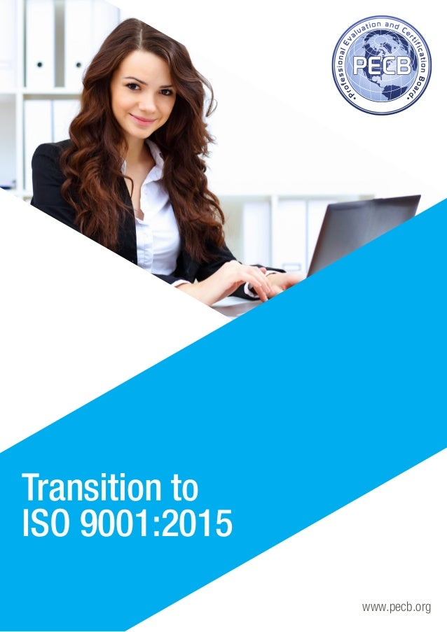 www.pecb.org Transition to ISO 9001:2015