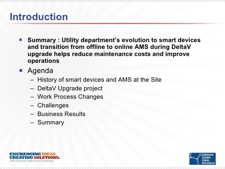 Transition to online AMS reduces maintenance costs and improves opera…