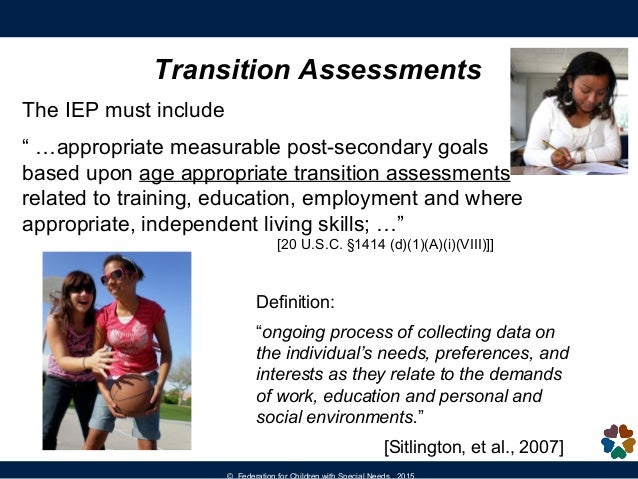 Introduction to the Transition Planning Process