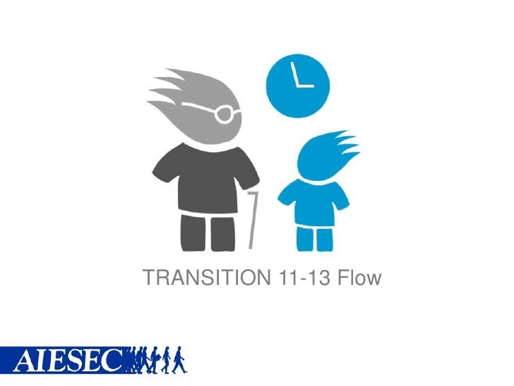 TRANSITION 11-13 Flow