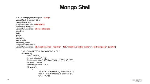Webinar: Transitioning from SQL to MongoDB