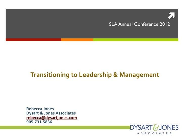 ì                                              SLA Annual Conference 2012                                         SLA C...