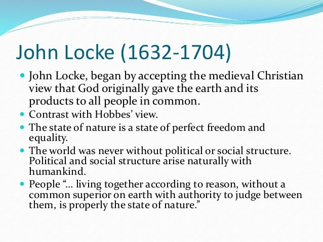 on individual freedom and state power: views from hobbes, locke and rousseau essay The only mutual thread between hobbes' and locke's state of nature is  views of hobbes, locke and rousseau essay  absolute power the state was there to.