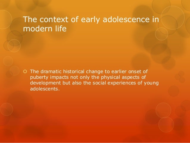 the changes that occur during the transition from a child into a young adult An essay on psychological changes during  activity precede role transition into parenthood and  the young adult a sense of 'knowing where one is.