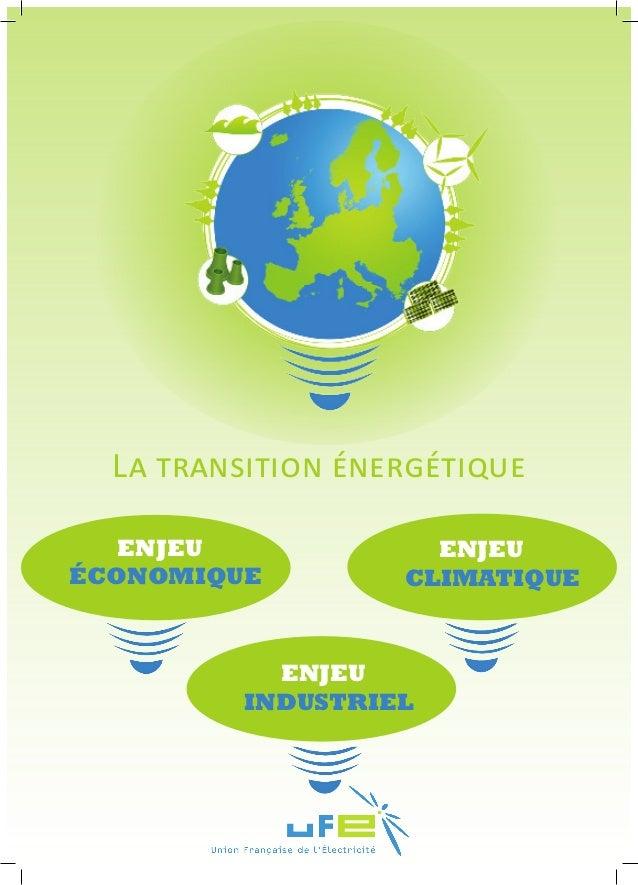 enjeuindustrielenjeuéconomiqueLa transition énergétiqueenjeuclimatique