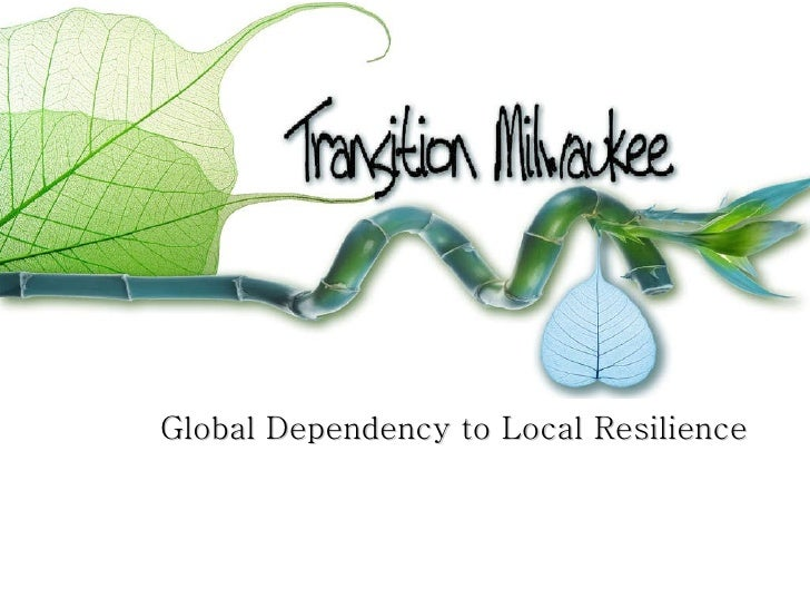 Global Dependency to Local Resilience