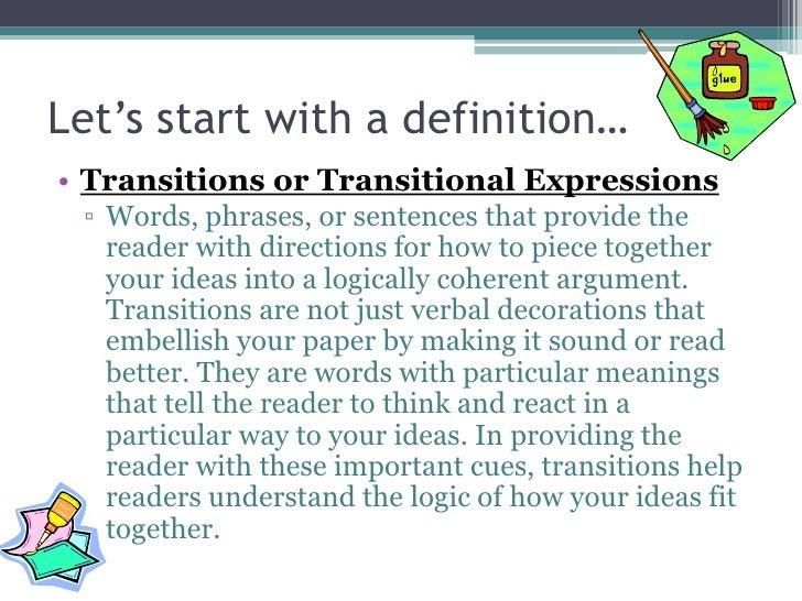 Transitions Slide 2