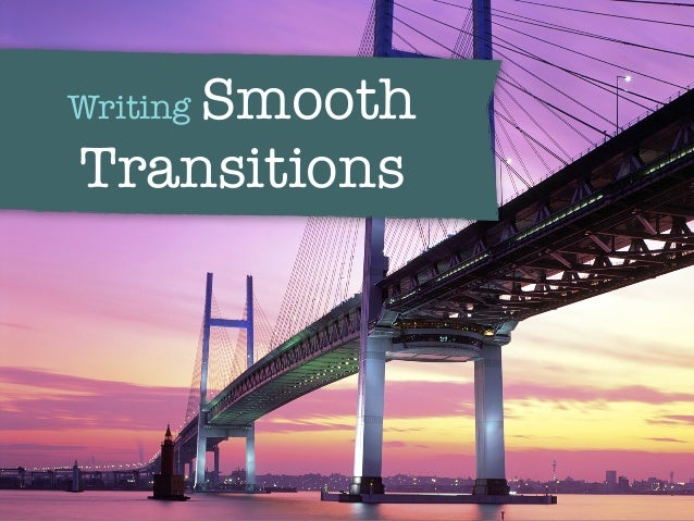 transitions writing