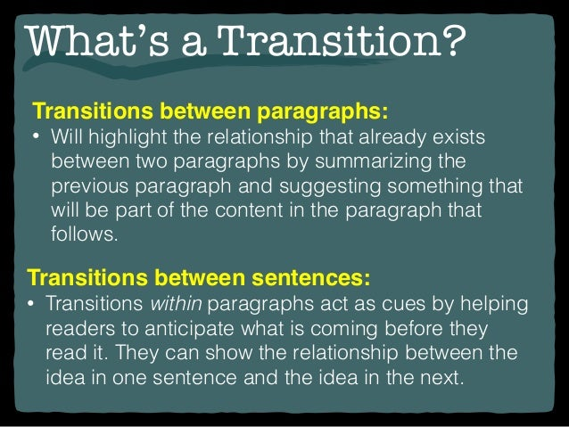 writing transitions transitions between paragraphs