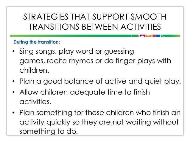 Transitions presentation (revised)