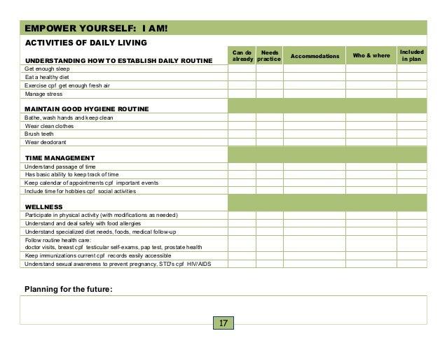 caregiver calendar template