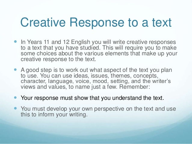 how to write essat vce test response