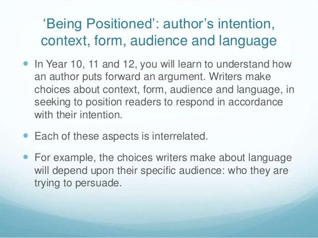 Essay write in english language vce