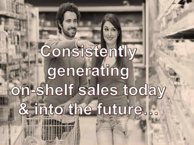jamandco.com.au How do you consistently generate sales from the retail shelf today and into the future?