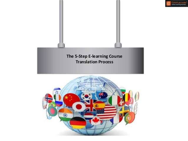 The 5 Step E Learning Course Translation Process